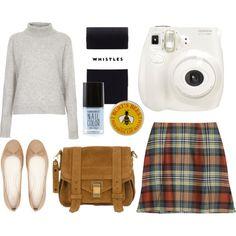 """school girl"" by jjanice on Polyvore Burts Bees, Nail Colors, School, Polyvore, Fashion, Moda, Fashion Styles, Schools, Fasion"