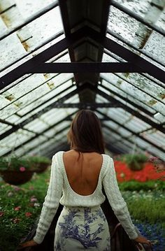 Even comfy sweaters can be backless.  :-)