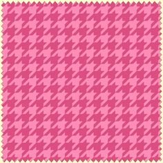 Tonal Pink Houndstooth by Maywood Studios Cotton Fabric Yardage Merry And Bright, Bright Pink, Pink And Green, Houndstooth Fabric, Pink Fabric, Christmas Fabric, Green Christmas, Pink Quilts, Check Fabric