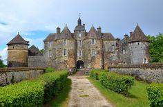 Château de Ratilly - département de l'Yonne