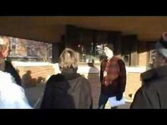 Steel and structure in Wright's Robie House - YouTube