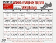 February's Walking Challenge