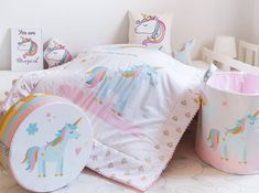 'Be magical' collection from MamaZoo Toy Storage Baskets, Kids Room, Toddler Bed, Anna, Furniture, Instagram, Home Decor, Collection, Child Bed