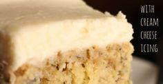 Crazy Banana Cake With Cream Cheese Icing