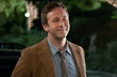 "Chris O'Dowd  - seriously, every girl in the cinema went 'awww' when this part happened in ""Bridesmaids"".....he's so sweet"