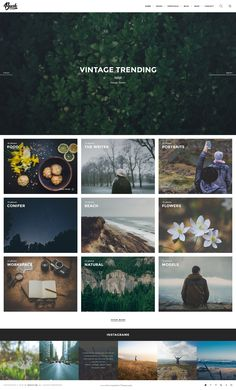 Brush – is clean, beautiful, minimalist PSD Template which can be used for #Photographer Portfolio, Personal Website, Product #Website, and much more.