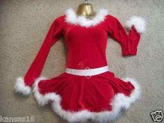 Ho Ho Ho Christmas Show Skating Dresses