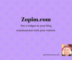 Zopim You Can Communicate With Your Visitors To Your Blog