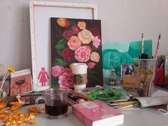 An ordinary day with an ordinary artist. #Art #Artist #Artwork #Artistic