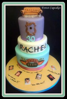 30 AWESOME FRIENDS TV SHOW THEMED BIRTHDAY CAKES cakes