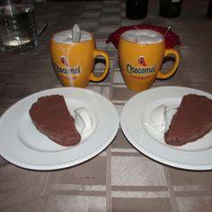 Lekkere parfait met een volle chocolade smaak makkelijk te maken en geen ijsmachine nodig!