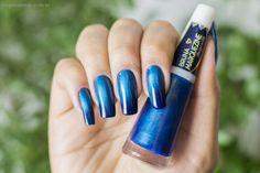 Esmalte Degradê Bruna Marqueine Azul Blue Black