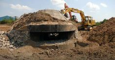 A WWII Bunker Discovered in Serbia Is Being Torn Down To Be Replaced By A Supermarket!