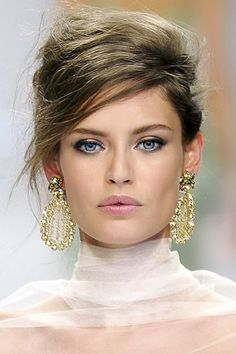 Bianca Balti,  top model italiana,  per la Collezione Ermanno Scervino.