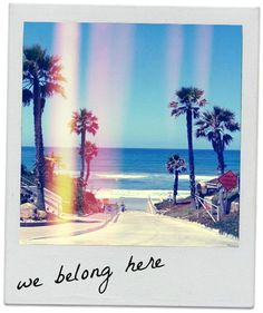 We belong here!