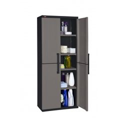Keter Space Winner Utility Cabinet is great for small places. Store hand tools and small garden accessories. Small Garden Accessories, Tall Cabinet Storage, Locker Storage, Plastic Sheds, Cheap Sheds, Utility Cabinets, Small Places, Space, Furniture
