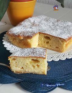 TORTA MORBIDA CON CREMA PASTICCERA ,la particolarità di questa torta, è che viene cotta in forno con al suo interno la crema pasticcera http://blog.giallozafferano.it/lacucinadimarge/torta-morbida-crema-pasticcera/