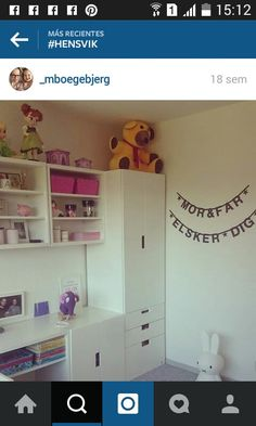 Ikea Kids, Ikea Playroom, Boy Girl Bedroom, Girl Room, Ikea Girls Room, Ikea Stuva, Ideas Habitaciones, Kids Bedroom Storage, Activity Room