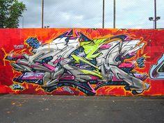 CASM nsa upd vfl at Norris Green spot. Liverpool. A Zap Graffiti JOINT.