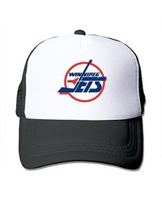 Black HGLENice Winnipeg Jets Unisex Adjustable Baseball Hats One Size  Baseball Caps 212597eb8044