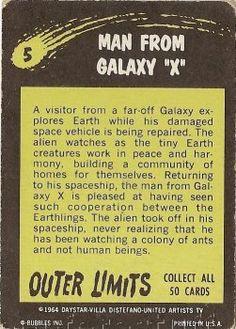 "5 Man From Galaxy ""X"""