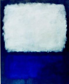 ROTHKO Marc - MINIMAL ART concentrates on the use of minimal material to pour out the maximum out of it