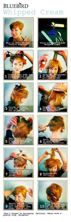 How-to Tutorial: 'Whipped Cream' Hair
