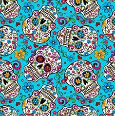 Sugar Skulls Wallpaper Skull Iphone Art