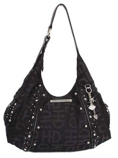 15ecad063a Harley-Davidson Women s H-D Jacquard Hobo Purse Black     Find out more  about the great product at the image link. A Beautiful Bag · Hobo Bags