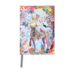 Discover the Christian Lacroix B5 Zebra Girl Journal at Amara
