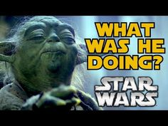 What #Yoda Did During His Exile on Dagobah https://www.youtube.com/watch?v=-h0ozDfAQRM