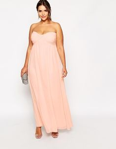f439d4afaa0 Truly You Bandeau Maxi Dress (Plus Size) Plus Size Maternity Dresses