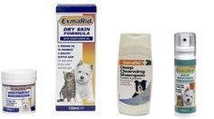 Exmarid for Dry Itchy Skin Formula Cats Dogs Puppies - Cream Spray Oil Shampoo #BobMartin