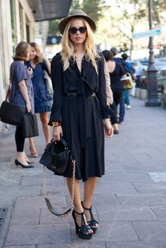 Paris Street Style S/S 12 RTW