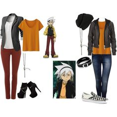 """""""Soul 'Eater' Evans"""" by angelamichellewilliams on Polyvore"""
