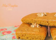The Sweetest Taste: Mini pumpkin cakes