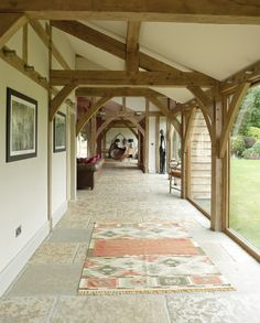 Buckinghamshire Barn - Border Oak - oak framed houses, oak framed garages and structures.