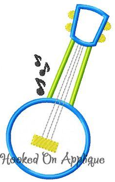 Banjo applique