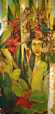 Artist Gallery Hermes Alegre New Artists, Various Artists, Filipino Art, Philippine Art, Feminine Mystique, Artist Gallery, Pinoy, Visual Arts, Beautiful Paintings