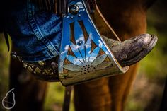 Ohhh em gee I need these stirrups Horse Gear, My Horse, Horse Tack, Western Tack, Western Style, Tack Shop, Spur Straps, Cowboy Gear, Barrel Horse