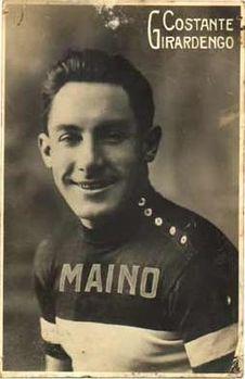 Costante Girardengo ( 1893 - 1978 ) : il Campionissimo. Solo Coppi in seguito meriterà tale appellativo.