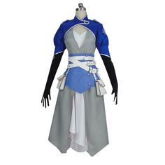 Japan Anime RWBY--Weiss Schnee Cosplay Costume White Color Coat