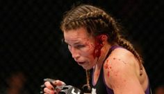 MMA fighter Leslie Smith almost her ear during the UFC 180 event this weekend, but continued to beg and plead for the referee to allow her to keep fighting. #LeslieSmith #UFC180 #JessicaEye