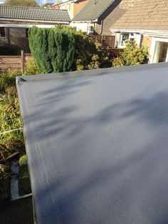 Great We Installed A GRP Roof To A Garage Roof In Rochdale. Now Fully Waterproof  And