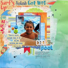 Cool in the Pool - Scrapbook.com