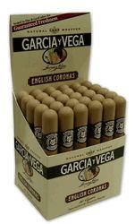 Garcia y Vega English Corona Tube Cigars - Box of 30