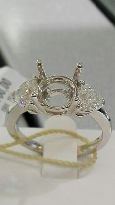 Gioielleria Bagnoli: GIOIELLI ARTIGIANALI, CREAZIONI ESCLUSIVE SU COMMI... Heart Ring, Engagement Rings, Crystals, Diamond, Jewelry, Enagement Rings, Wedding Rings, Jewlery, Jewerly