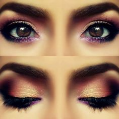 gorgeous eye make up! wow so cool! www.brayola.com