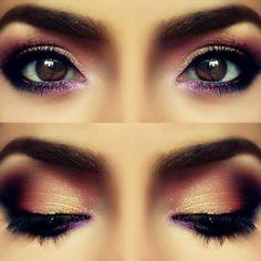 gorgeous eye make up! wow so cool! www.brayola.com