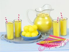 "Lemonade Set  for 18"" Dolls - American Girl - Kidz n' Cats #Sophias"